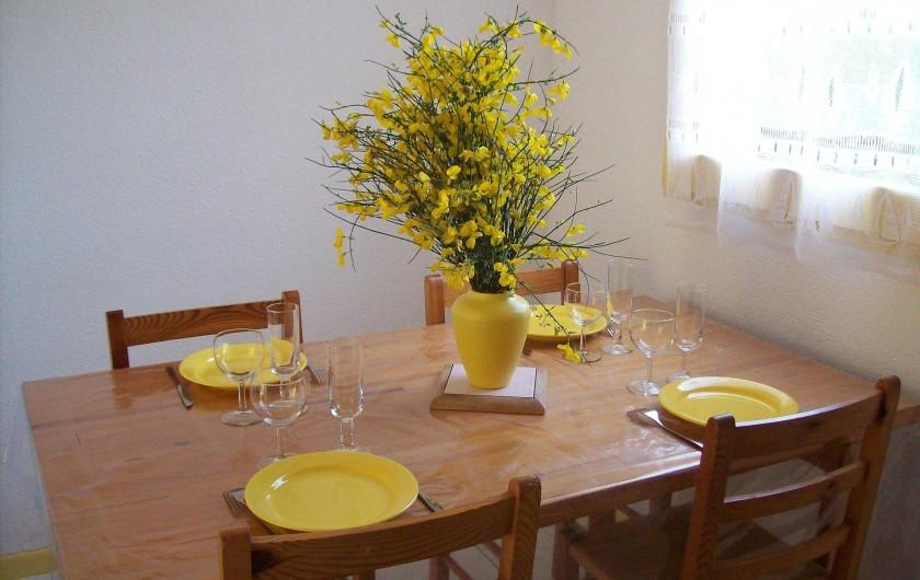Location de vacances - Maison - Villa à Lacanau Océan - Coin repas