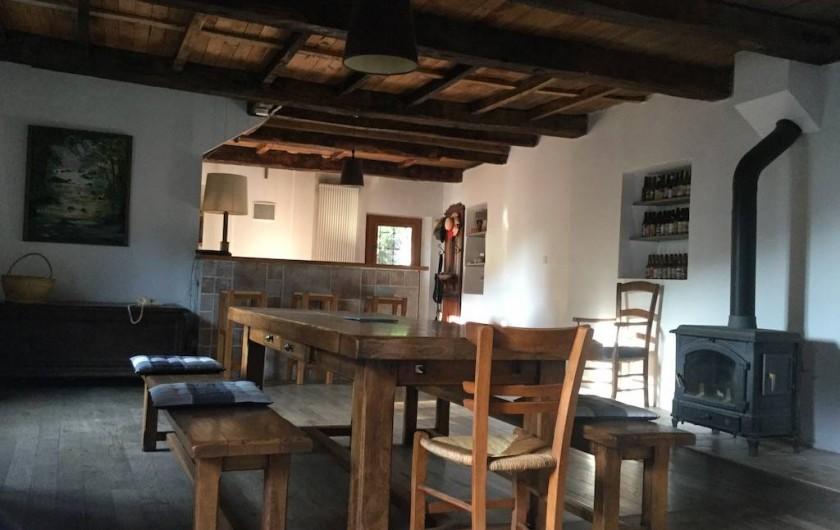 Location de vacances - Maison - Villa à Curvalle - Salle-à-manger