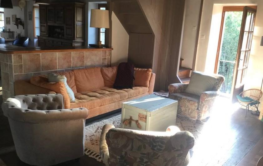 Location de vacances - Maison - Villa à Curvalle - Salon douillet