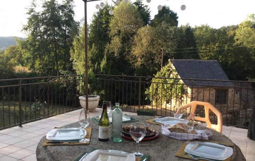 Location de vacances - Maison - Villa à Curvalle - Terrasse