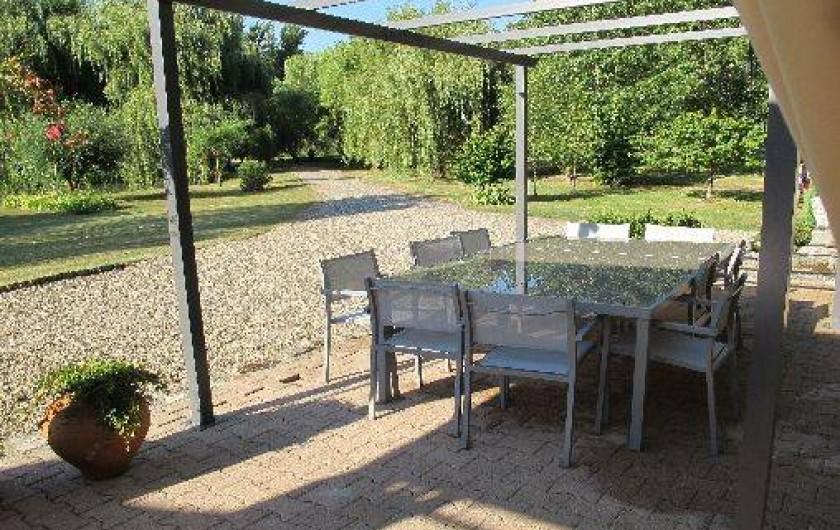 Location de vacances - Château - Manoir à Gueyze - La Pergola