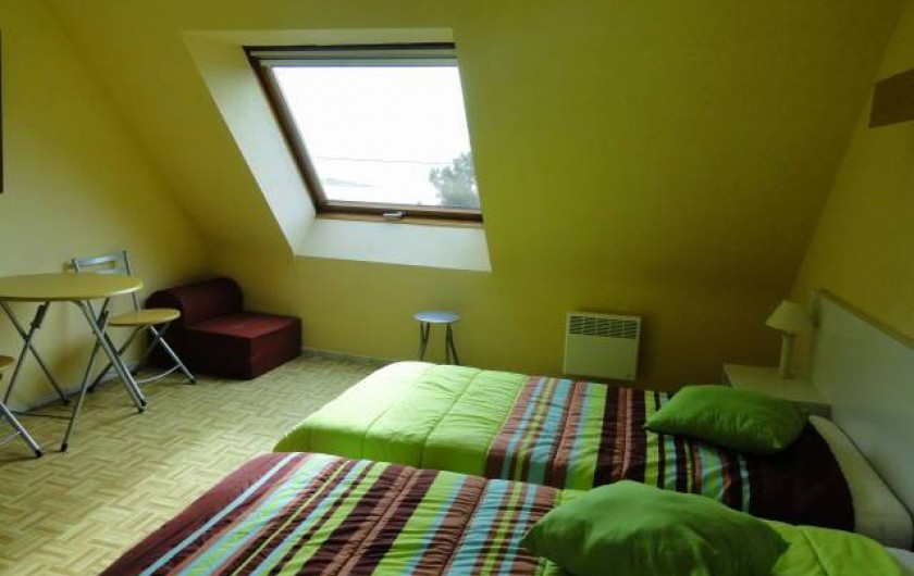 Location de vacances - Appartement à La Trinité-sur-Mer - Chambre duplex