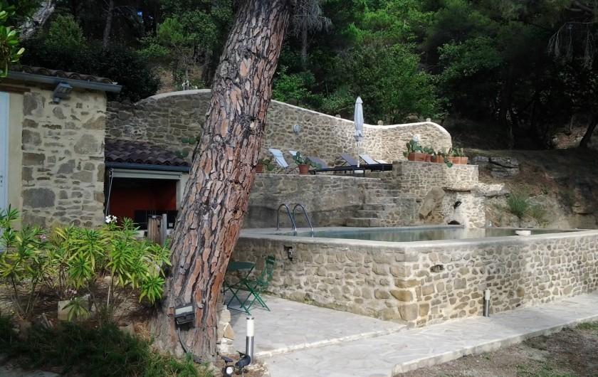 Location de vacances - Mas à Piégon - Extérieur