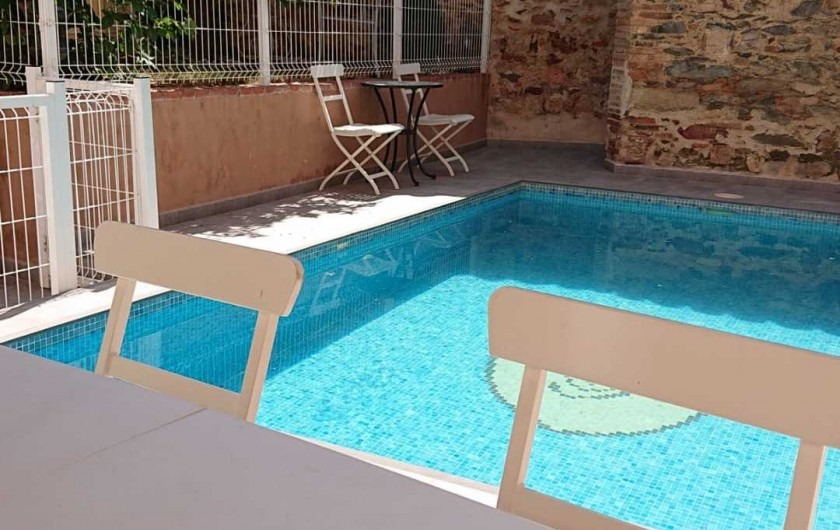 Location de vacances - Gîte à Siruela - Otra vista de la piscina