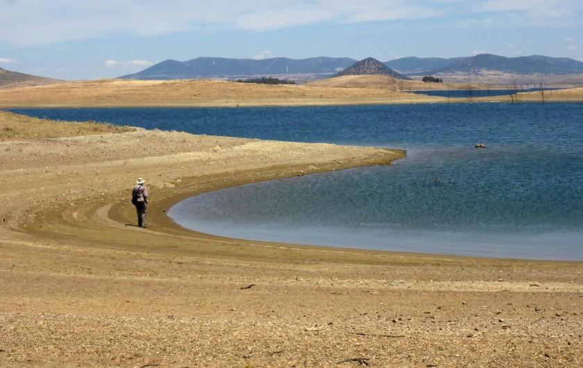 Location de vacances - Gîte à Siruela - La Serena, el mayor lago de España.