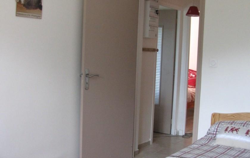 Location de vacances - Appartement à Savines-le-Lac - Chambre marmottes entrée