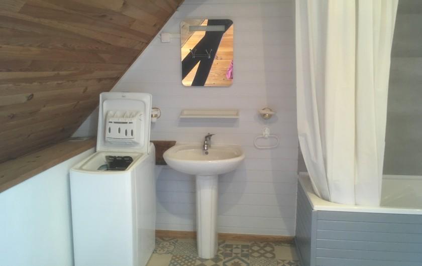 Location de vacances - Appartement à Audinghen - salle de bains