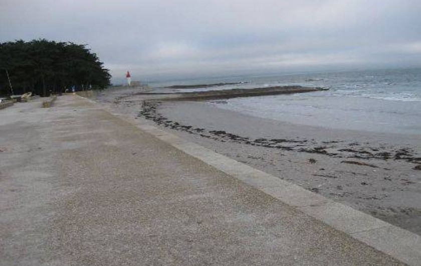 Location de vacances - Maison - Villa à Loctudy - plage de Langoz  à 500m de la maison