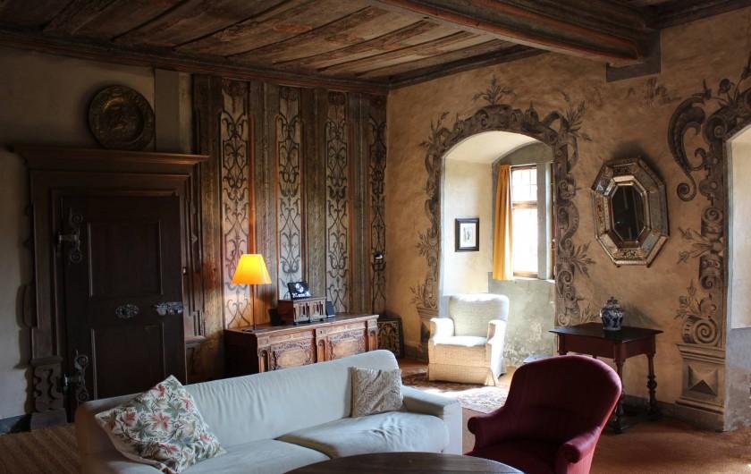"""Location de vacances - Appartement à Unsleben - Le """"salon bleu"""""""