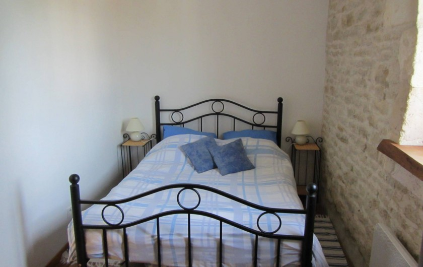 Location de vacances - Gîte à Saint-Crepin - Chambre double - gite L'Hibiscus