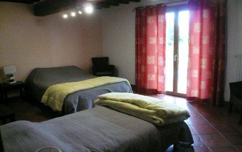 Location de vacances - Gîte à Vattetot-sur-Mer - Chambre