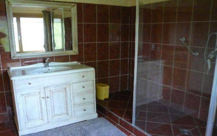 Location de vacances - Gîte à Vattetot-sur-Mer - Salle de bain