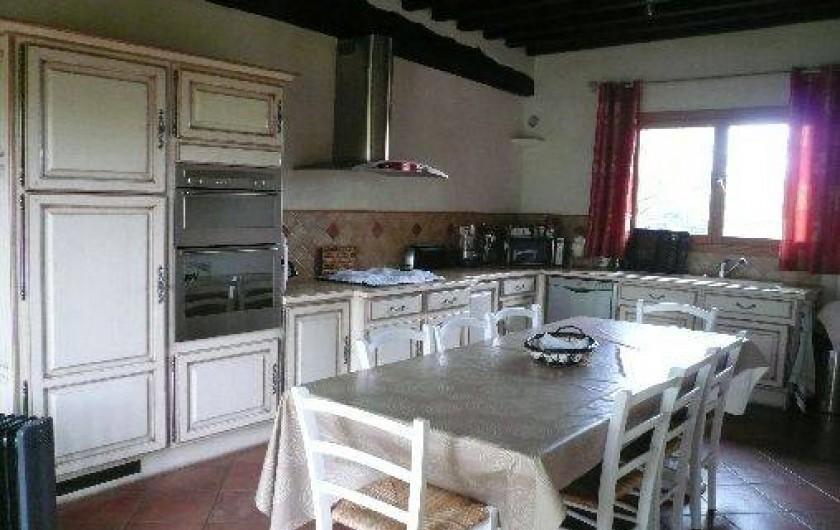 Location de vacances - Gîte à Vattetot-sur-Mer - Cuisine