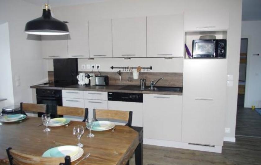 Location de vacances - Appartement à Villard-de-Lans - cuisine équipée