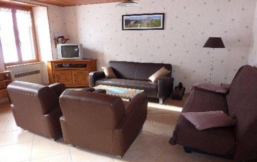 Location de vacances - Gîte à Paulhac - le salon