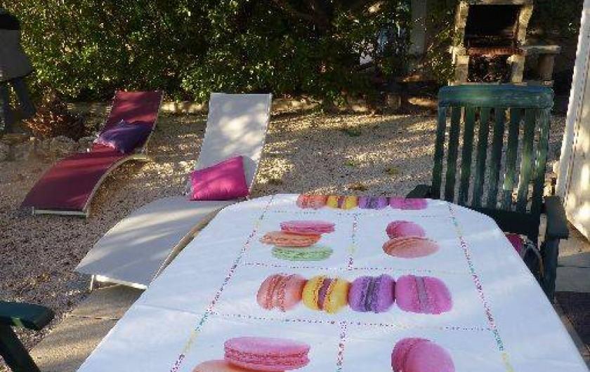 Location de vacances - Maison - Villa à Uzès - le jardin