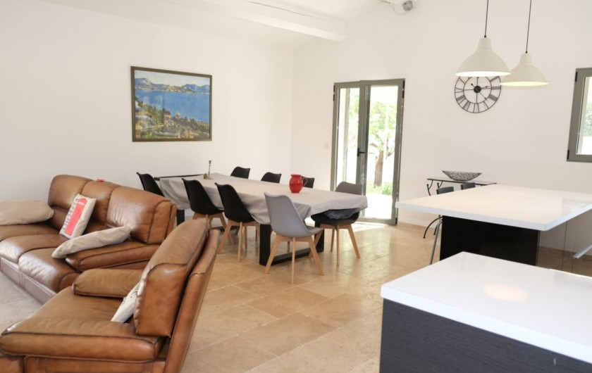 Location de vacances - Villa à Aureille - Séjour