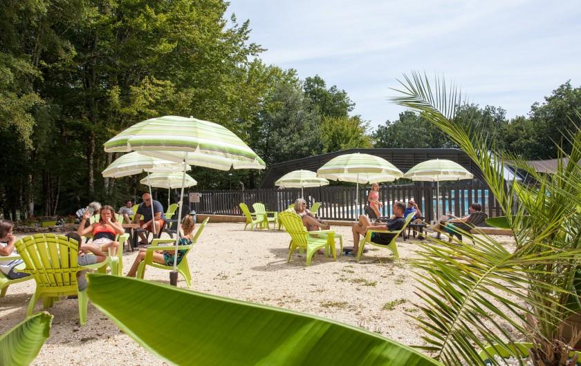 Location de vacances - Gîte à Calviac-en-Périgord - coin apéro lecture