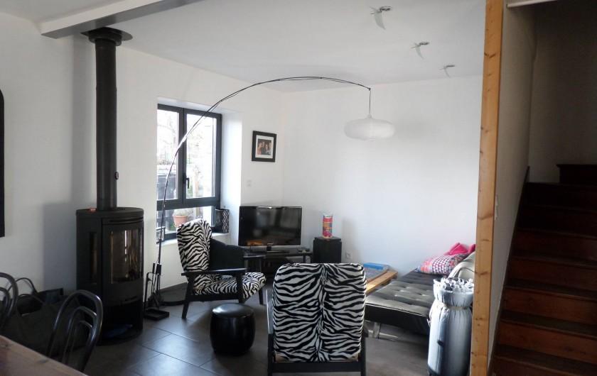 Location de vacances - Maison - Villa à Erquy - Pièce principale, coté salon