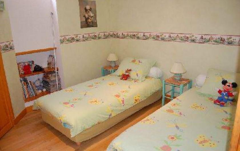 Location de vacances - Maison - Villa à Thiézac - 1 chambre à 2 lits individuels