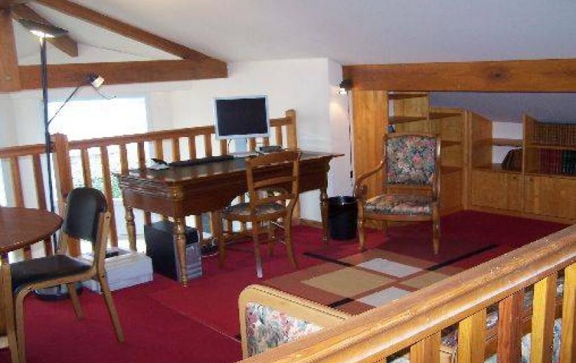 Location de vacances - Maison - Villa à Urrugne - Mezzanine (un couchage en 140)