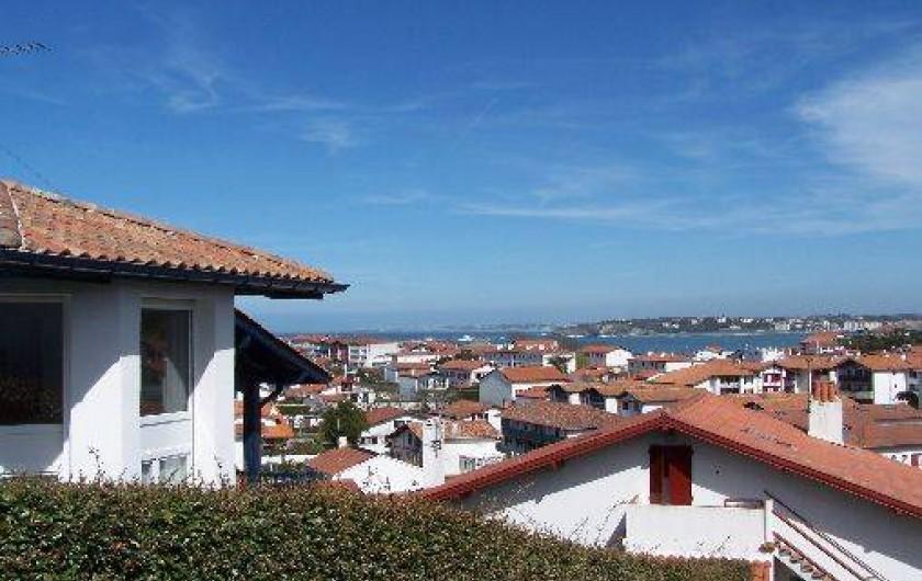 Location de vacances - Maison - Villa à Urrugne - Vue de la rue