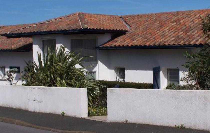 Location de vacances - Maison - Villa à Urrugne - façade de la rue