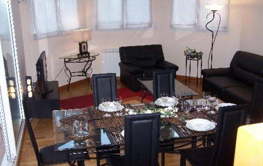 Location de vacances - Maison - Villa à Urrugne - salle à manger salon