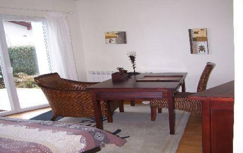 Location de vacances - Maison - Villa à Urrugne - Chambre deux (avant réfection déco)