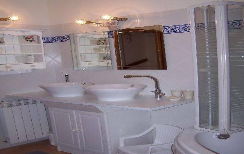 Location de vacances - Maison - Villa à Urrugne - Salle de bain
