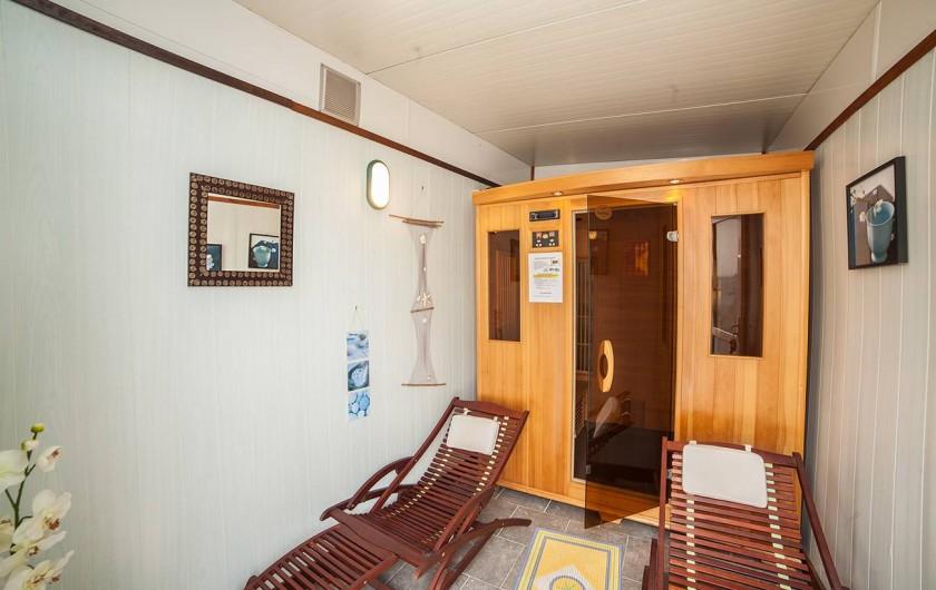 Location de vacances - Bungalow - Mobilhome à Ravenoville Plage - Sauna