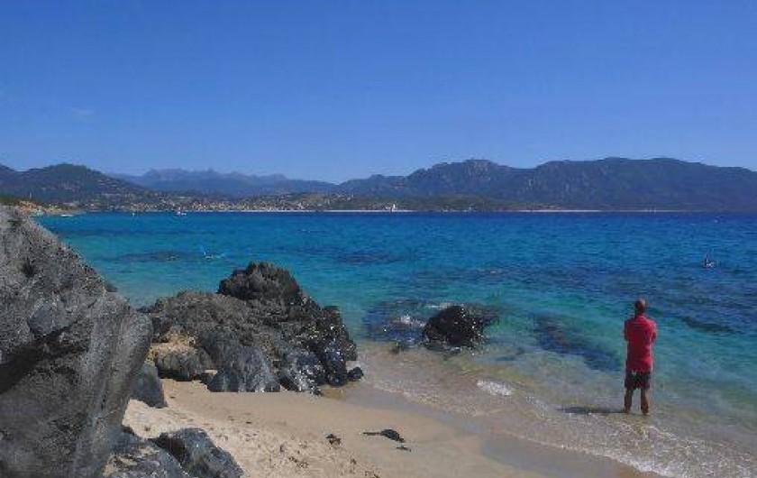 Location de vacances - Villa à Olmeto - Plage de Calanca