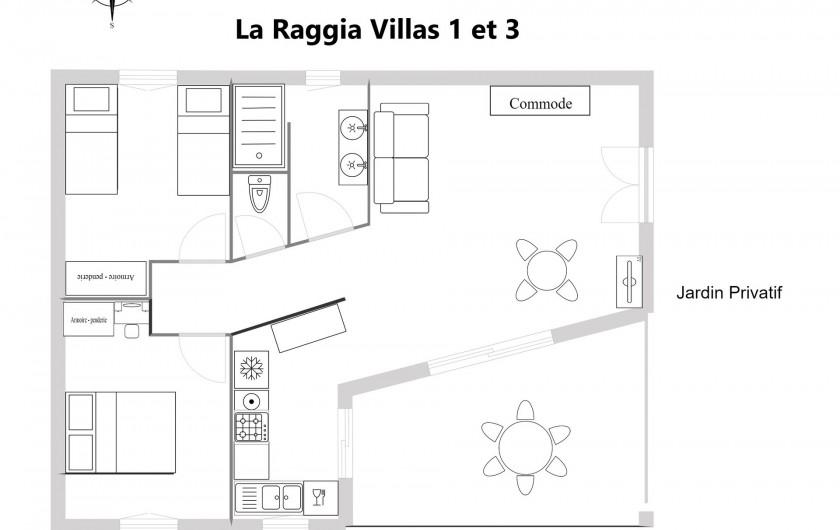 Location de vacances - Villa à Olmeto - Plan Villas