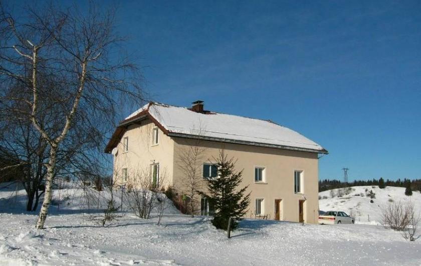 Location de vacances - Appartement à Lajoux - Maison hiver