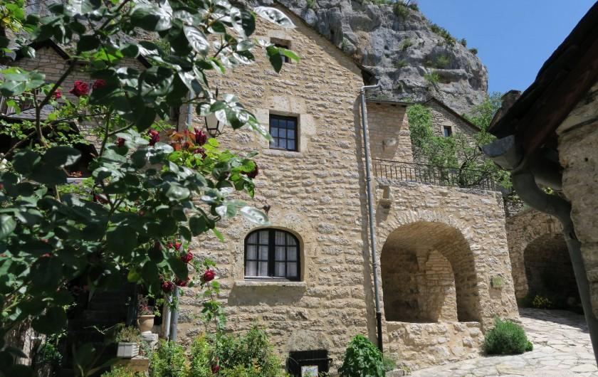 Location de vacances - Gîte à La Malène - Une maison authentique