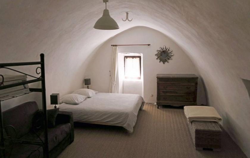 Location de vacances - Gîte à La Malène - La chambre parentale