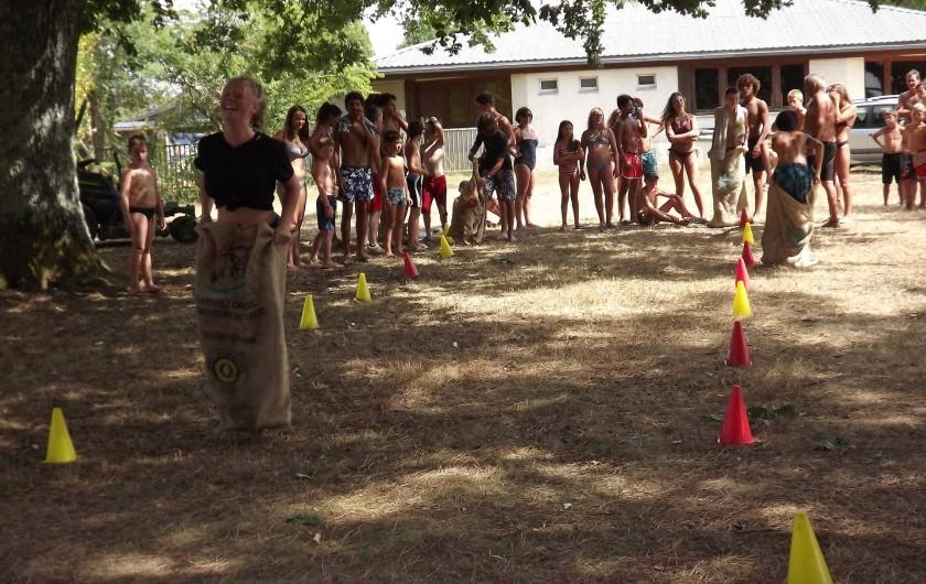 Location de vacances - Camping à Parcoul-Chenaud - Animations juillet et août nos Olympiades