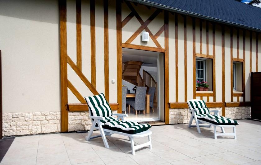 Location de vacances - Gîte à Vauville - TERRASSE PRIVEE