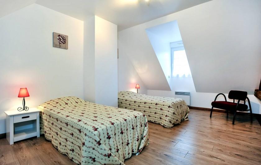 Location de vacances - Gîte à Vauville - CHAMBRE AVEC 2 LITS SIMPLES