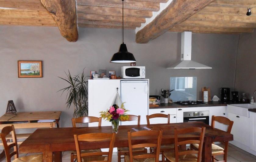 Location de vacances - Gîte à Courcelles - Cuisine