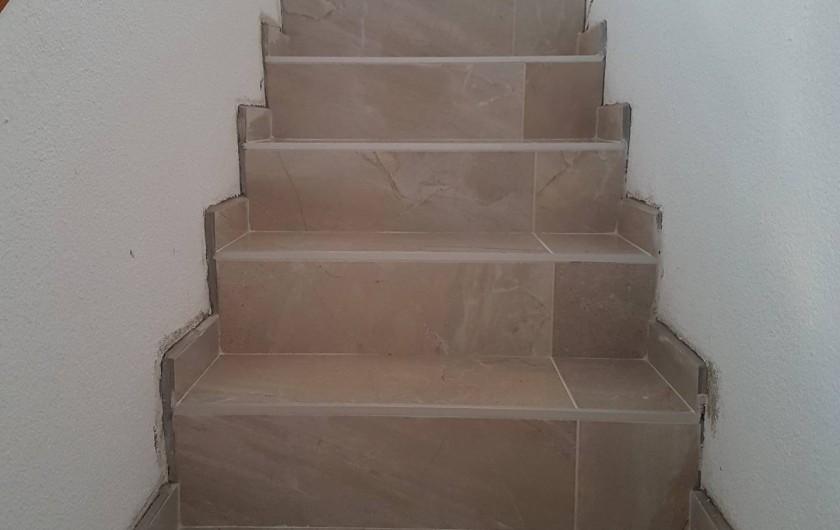 Location de vacances - Villa à Empuriabrava - escalier/Etage