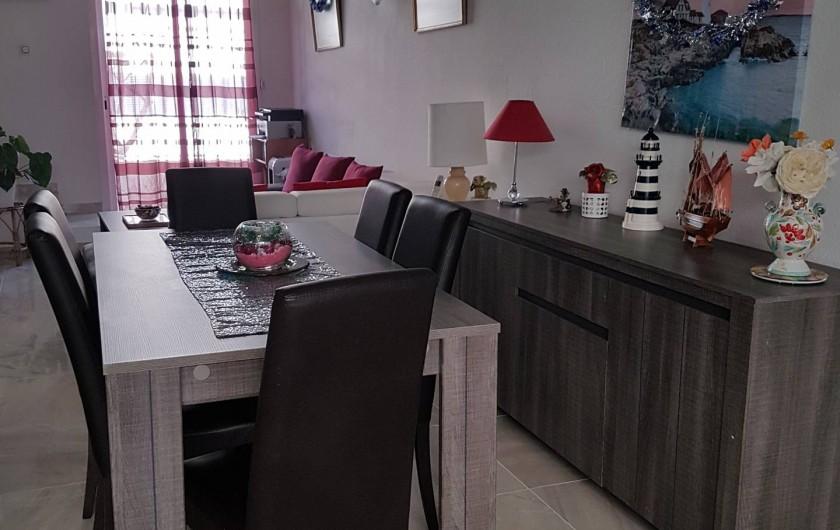 Location de vacances - Villa à Empuriabrava - Salon/Séjour