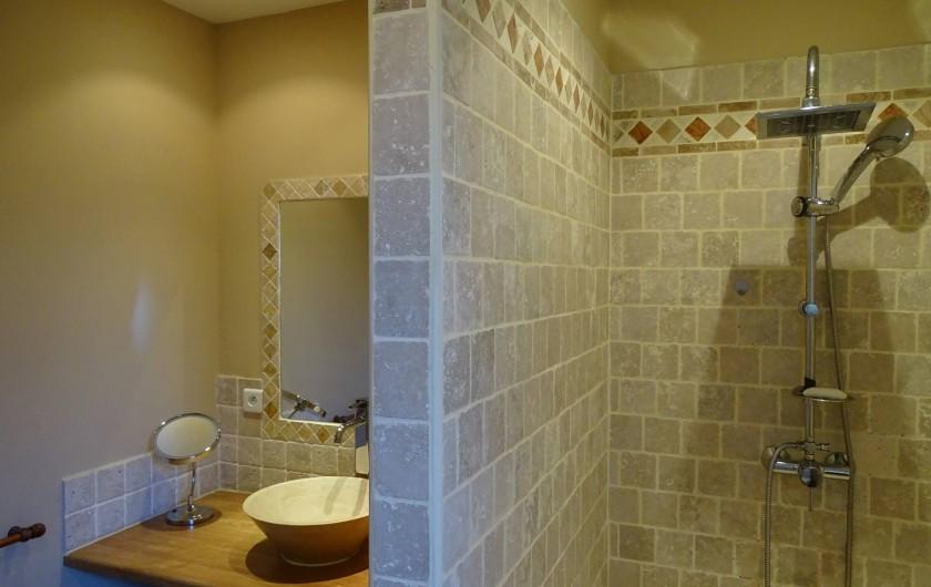 Location de vacances - Villa à Porto-Vecchio - Salle de douche