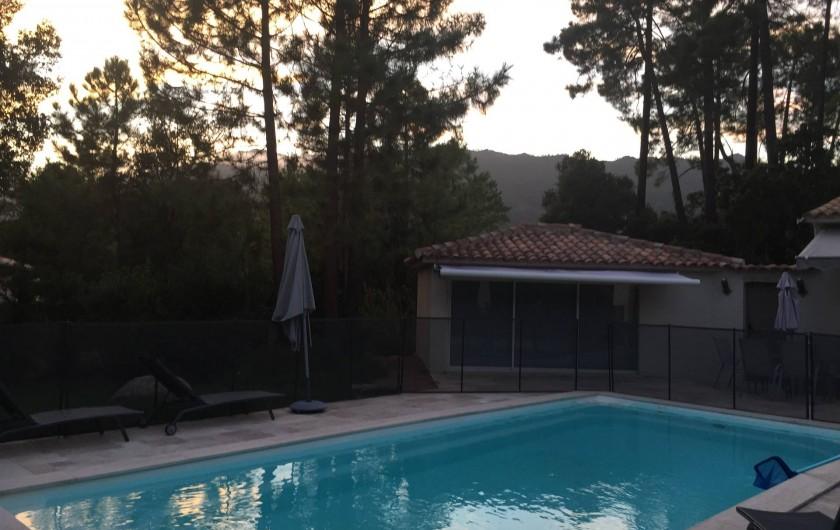 Location de vacances - Villa à Porto-Vecchio - Piscine et studio