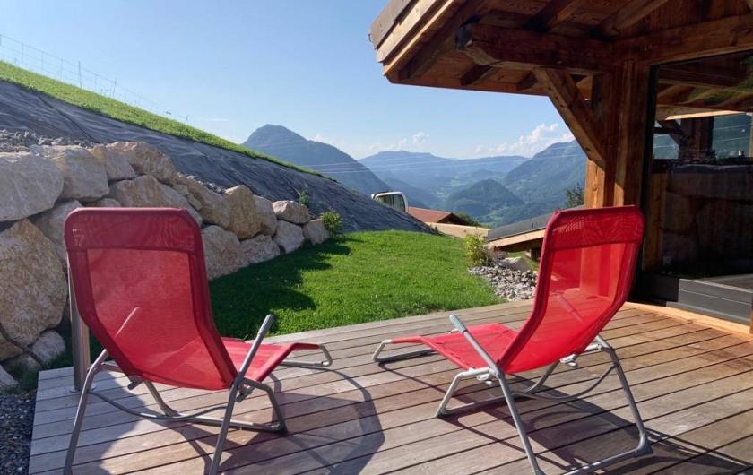 Location de vacances - Chalet à Saint-Sigismond - Vue sur Les Montagnes