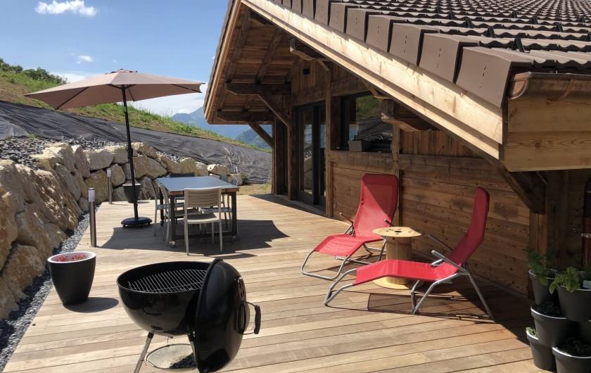 Location de vacances - Chalet à Saint-Sigismond - La Terrasse
