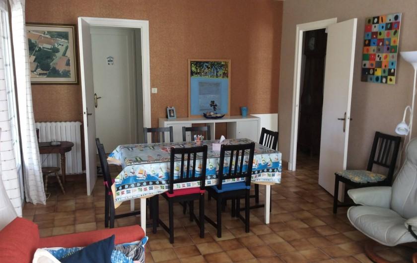 Location de vacances - Maison - Villa à Saint-Pierre-d'Oléron - Grande maison: espace salle à manger