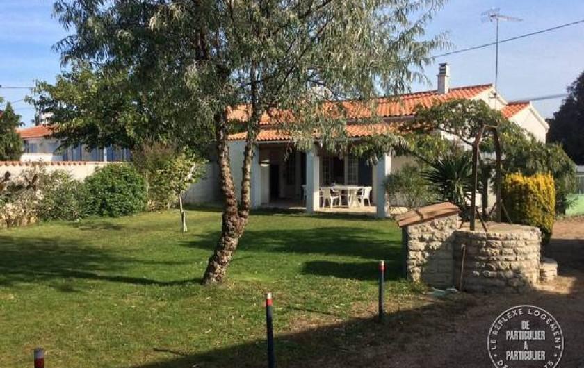 Location de vacances - Maison - Villa à Saint-Pierre-d'Oléron - Grande maison: vue de la laverie