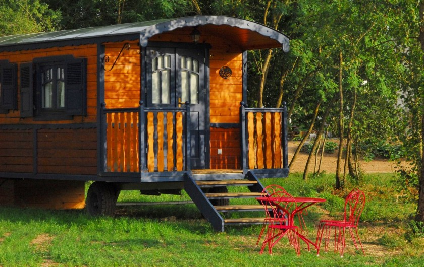 Location de vacances - Bateau à Chassenard - Roulotte