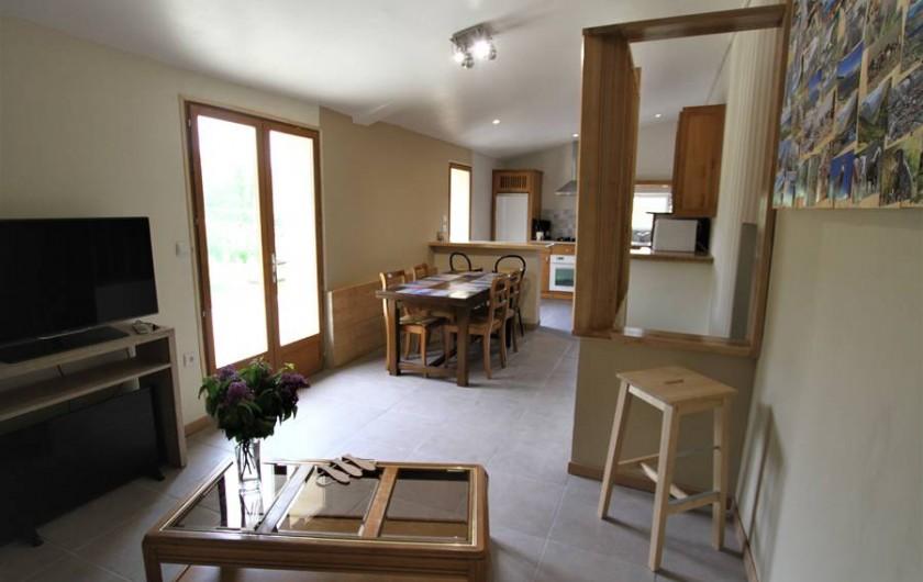 Location de vacances - Chambre d'hôtes à Sauveterre-de-Rouergue - Gîte - espace ouvert